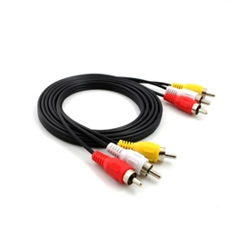 CABO RCA INTERNEED P/AUDIO/VIDEO 3 FIOS - 05547